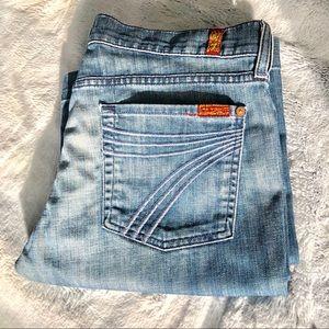 7 For All Mankind.  DOJO Jeans